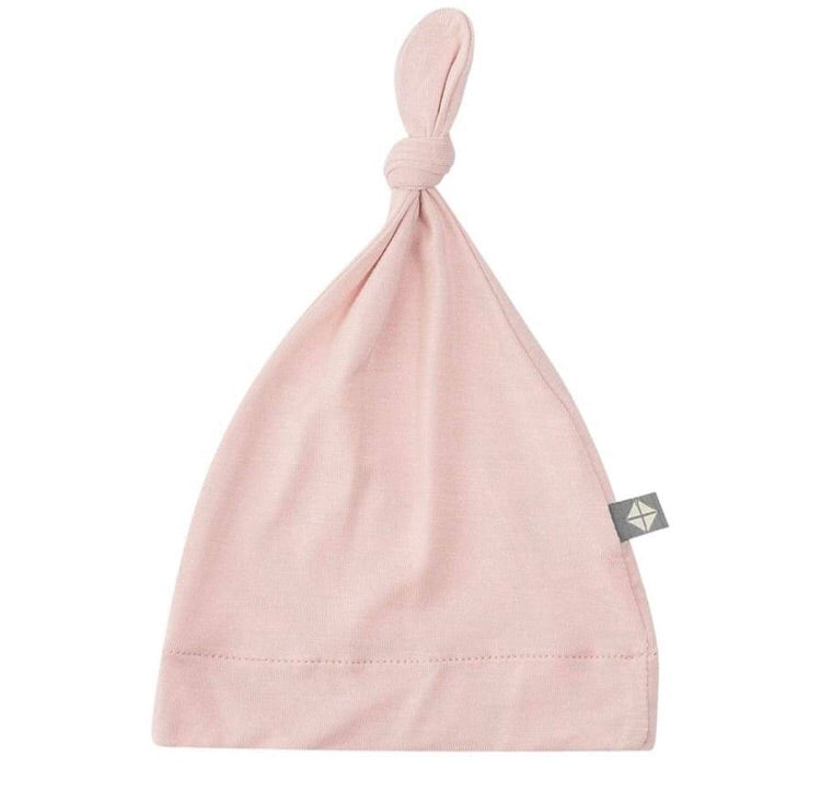 Solid Knotted Cap, Blush