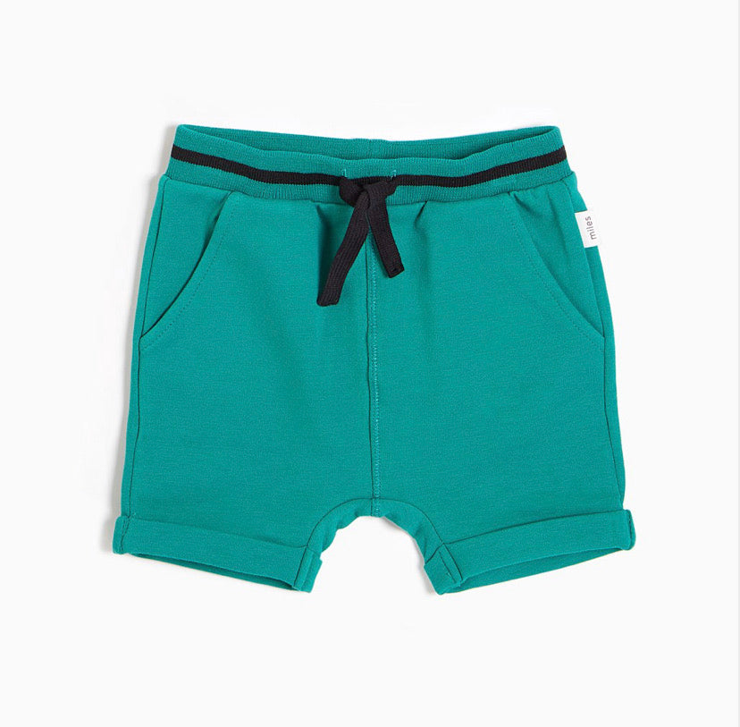 English Court Green Shorts