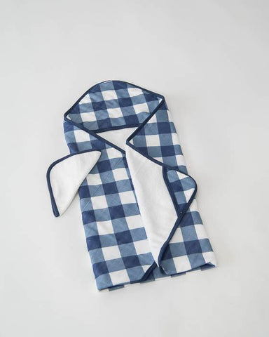 Copy of Cotton Hooded Towel & Wash Cloth Set, Jack Plaid