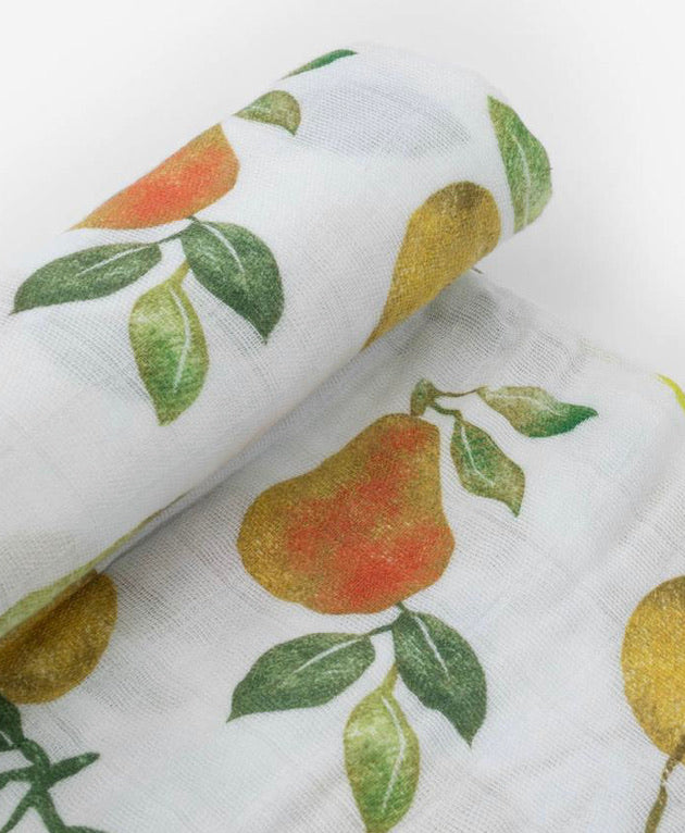 Cotton Muslin Swaddle, Peary Nice