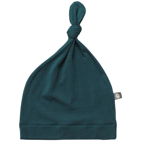 Solid Knotted Cap, Emerald