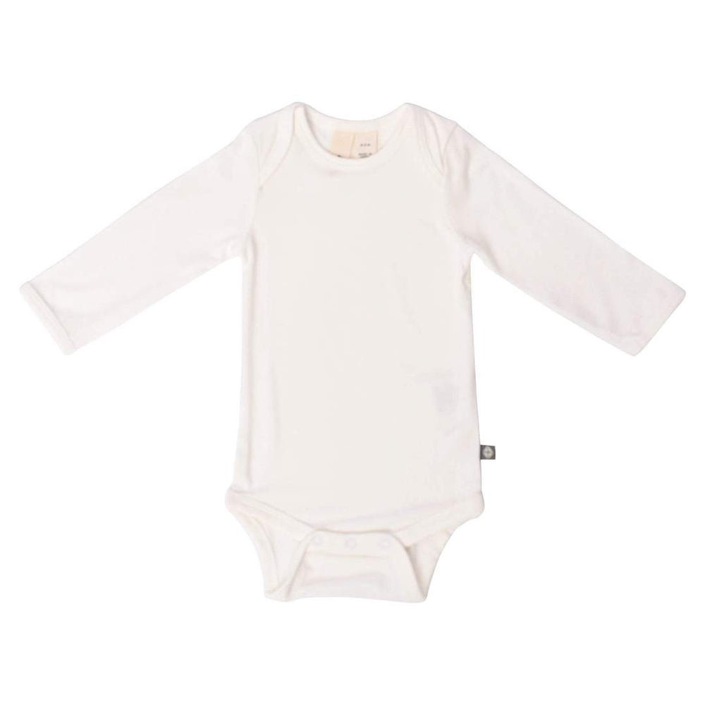 Long Sleeve Bodysuit in Cloud