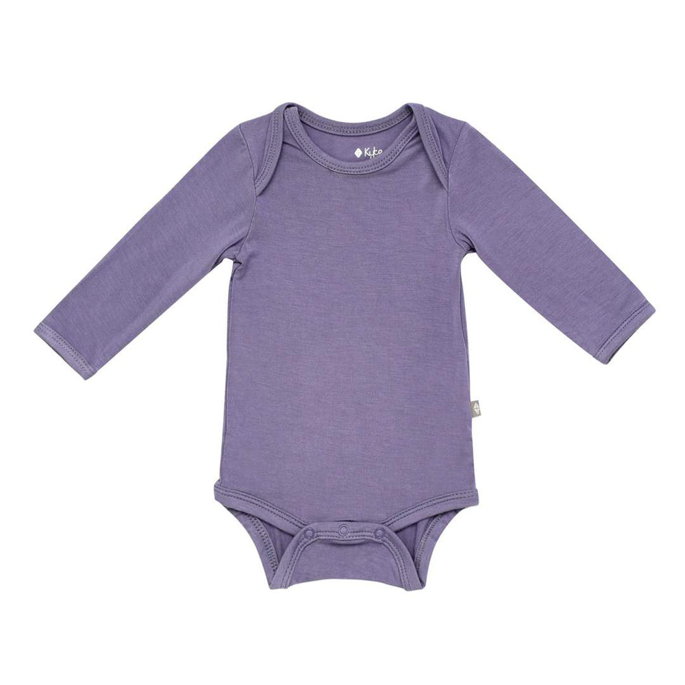 Long Sleeve Bodysuit in Orchid