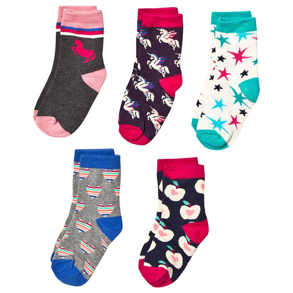 Girls Crew Socks