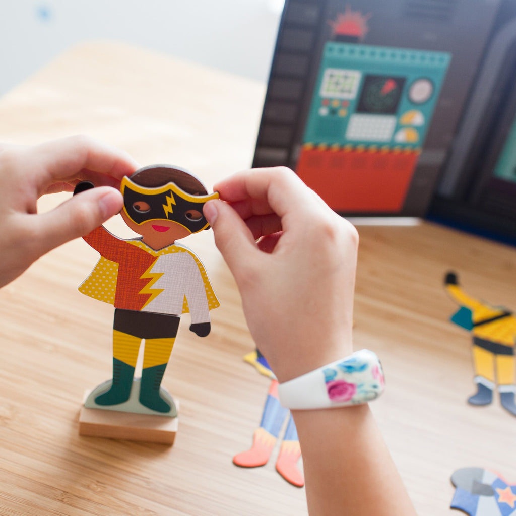 Magnetic Dress-Up, Superheroes