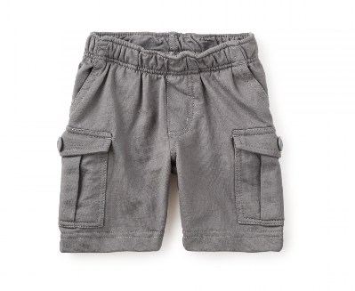 Out and About Baby Cargo Shorts, Thunder