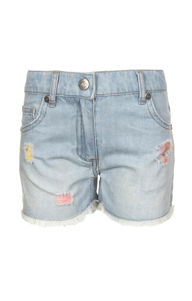 Rhodes Denim Short, Light Blue Denim