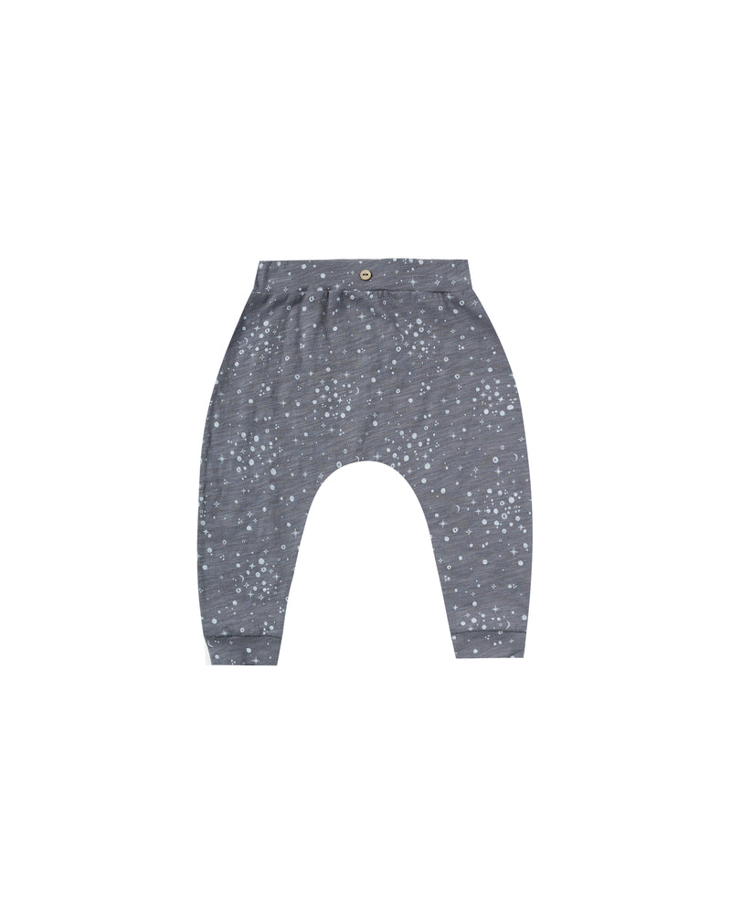 Moondust Slouch Pant, Washed Indigo