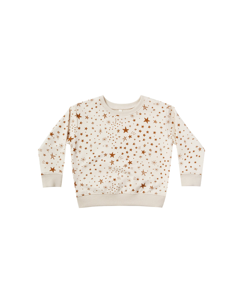 Starburst Sweatshirt, Natural