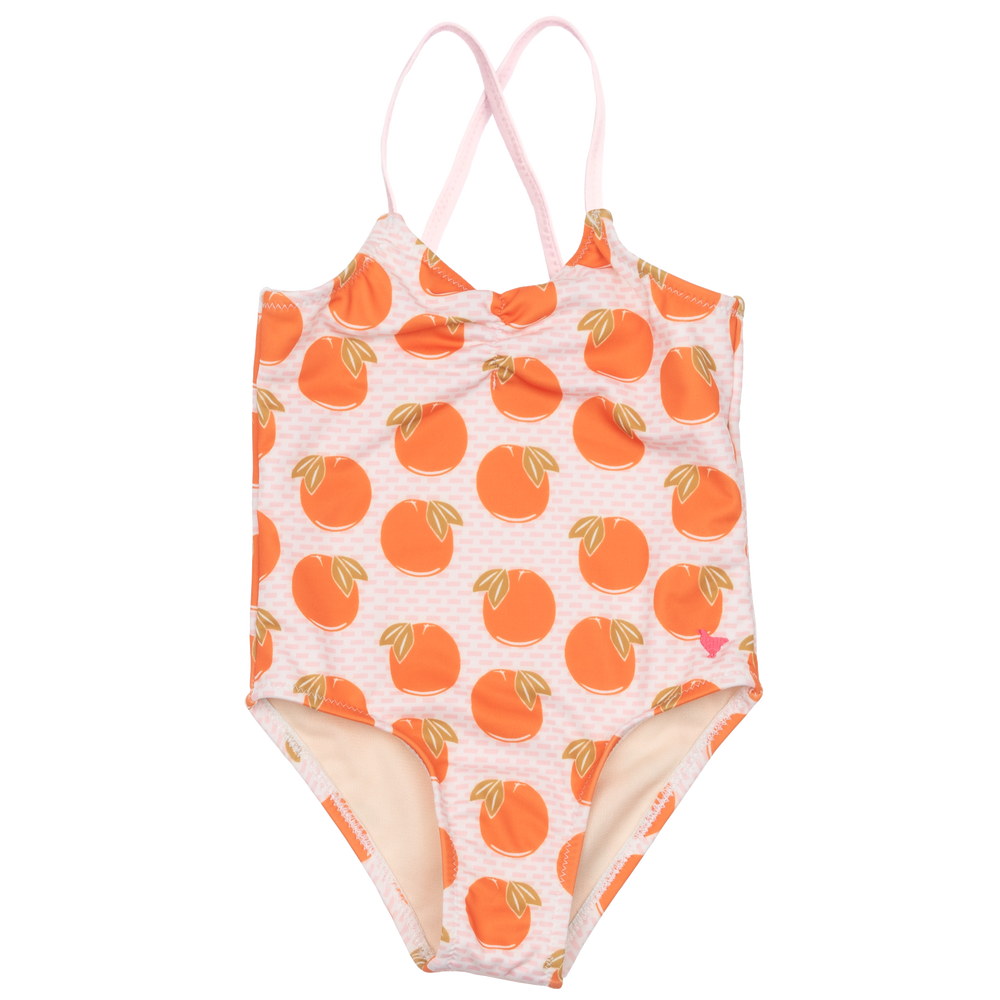 Belle Swimsuit, Cloud Pink Oranges