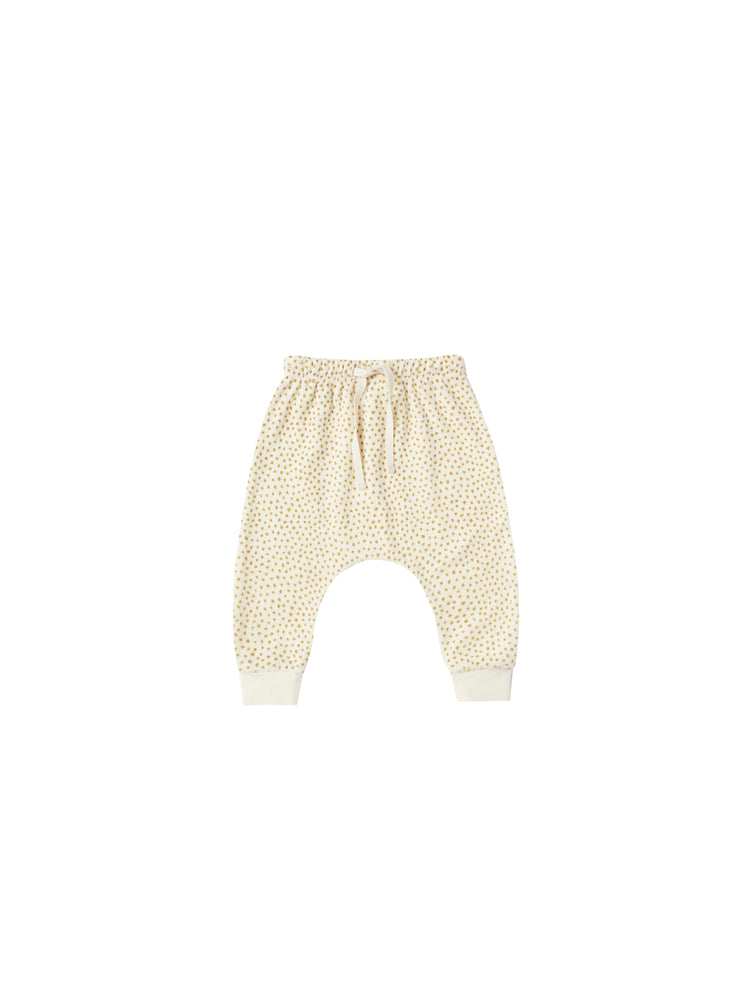 Terrycloth Sweat Pants, Ivory