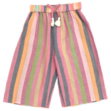 Theodore Pant, Multi Stripe Pink Chicken
