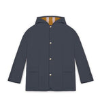 Midi Rain Jacket, Atlantic