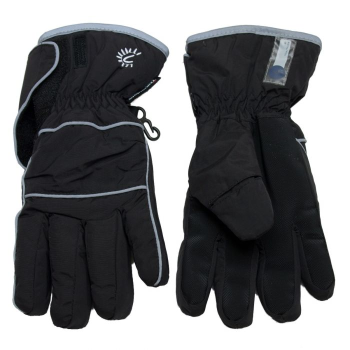 CaliKids Waterproof Gloves, Black