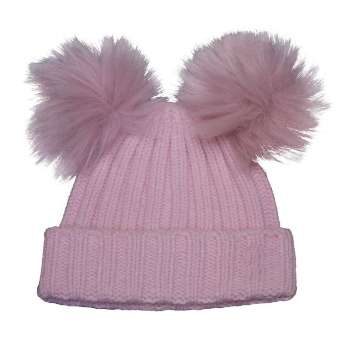 Two Pompom Hat, Ages 2-5