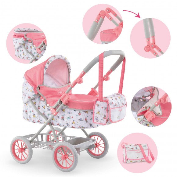"Baby Carriage for 14"" / 17"" Dolls"