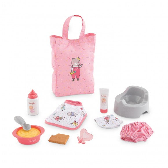 "Large Accessories Set for 12"" Baby Doll"