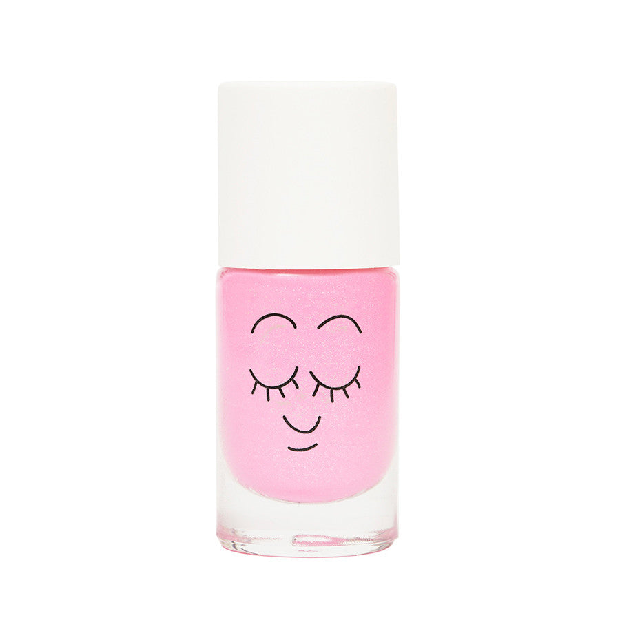Dolly Water-Based Nail Polish - Neon Pink