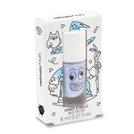 Merlin Water-Based Nail Polish - Pearly Blue Nailmatic