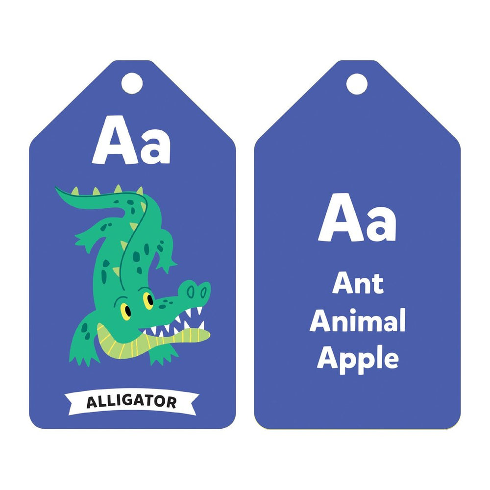Wildlife ABCs Ring Flash Cards