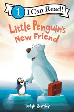 Little Penguins New Friend by Tadgh Bentley
