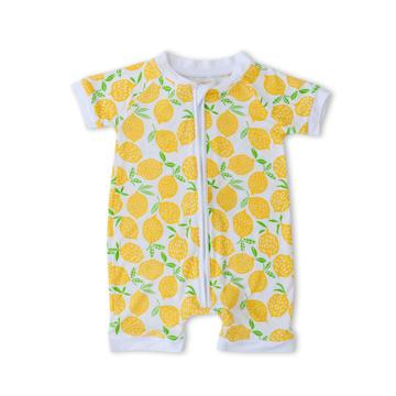 Lemons Shorty Convertible Romper/Sleeper