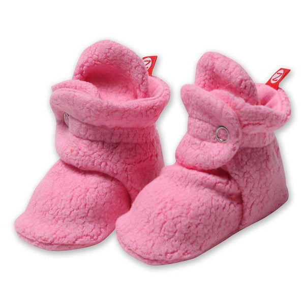 Cozie Fleece Bootie, Hot Pink