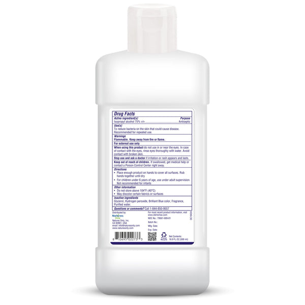 SterloMax I-75 Professional - 75% Isopropyl Alcohol-based Hand Rub Sanitizer and Disinfectant. 17 Fl Oz (500 ml). Pack of 4…
