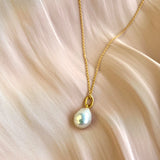 Ana Freshwater Pearl Necklace 18ct Gold Vermeil