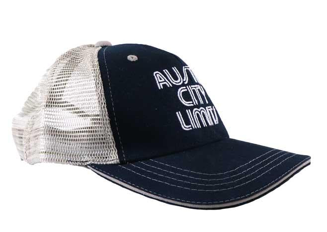 ACL Embroidered Trucker on Black
