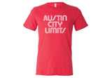 ACL Adult White on Vint. Red Shirt