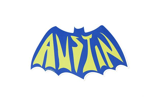 Austin Bat Vinyl Sticker