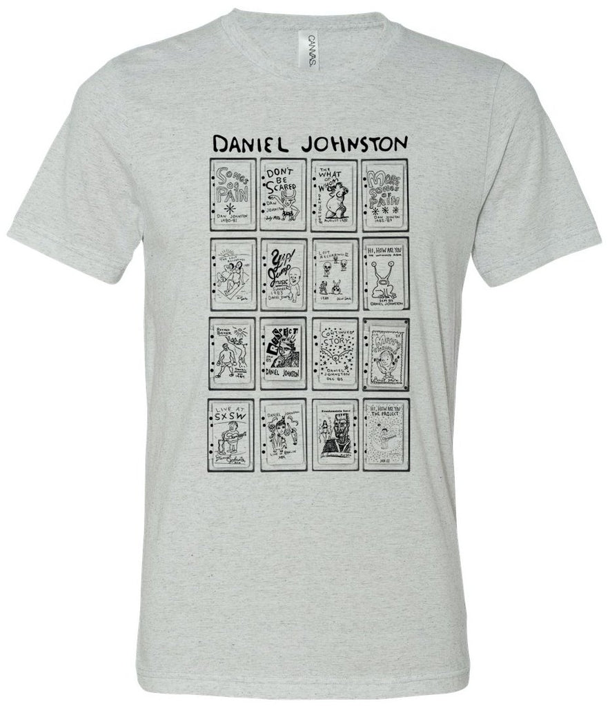 Daniel Johnston Catalogue White Fleck