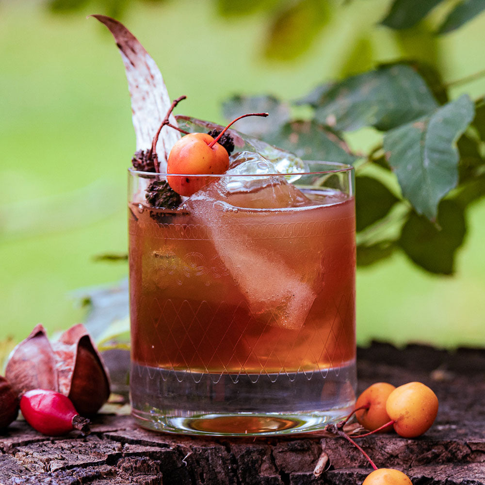 DIY Iced-Apple & Chestnut Old-Fashioned | 3 serves