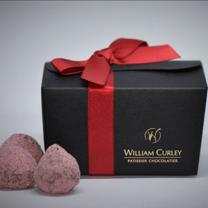 Load image into Gallery viewer, William Curley Mother's Day Chocolates & Mulberry Rose Fizz | 4 serves