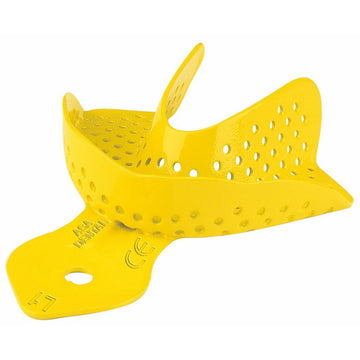 Aluminum Colour-coded Perforated Impression Tray L1 - azorthodental