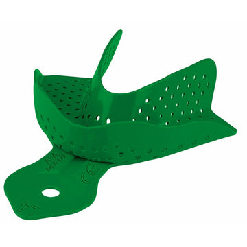 Aluminum Colour-coded Perforated Impression Tray L4 - azorthodental