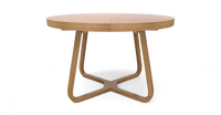 Romulus Extendable Dining Table 120/160cm-Lifeisgoodfurniture