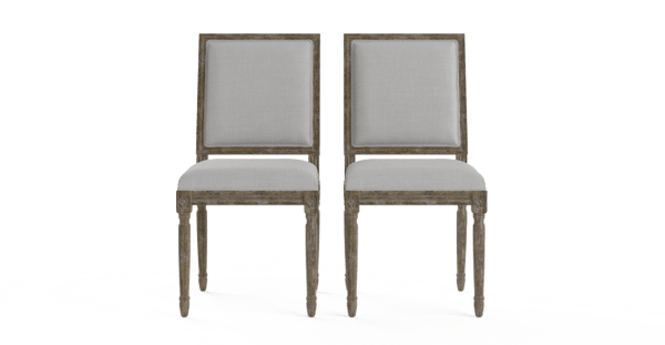 Petite Fleur Set of 2 Dining Chairs-Lifeisgoodfurniture