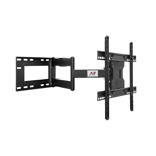 "Single Arm Full Motion Cantilever TV Wall Mount with Built-in Cable Management for LED, LCD & Plasma TVs Size 40"" to 70"" (NBSP2)-Lifeisgoodfurniture"