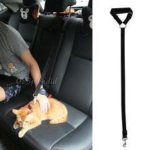 Load image into Gallery viewer, Adjustable Pet Dog Travel Safety Car Vehicle Seat Belt Harness Lead Pet Seatbelt