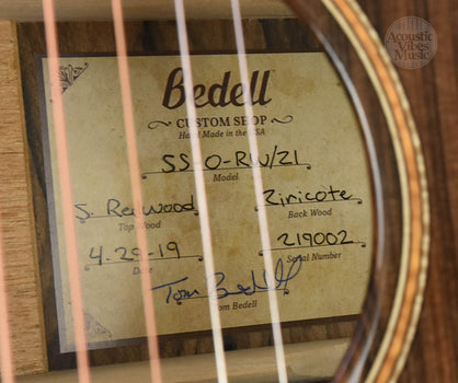 Bedell Seed to Song Custom Orchestra  Ocean Sinker Redwood/Zircote