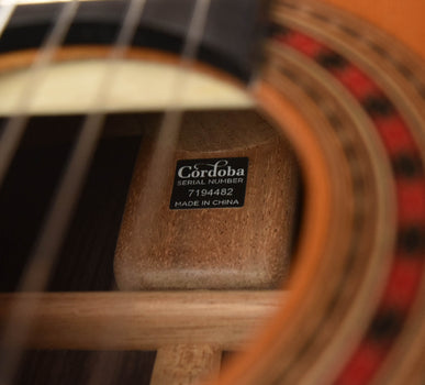 Cordoba Friederich Luthier Select Classical Guitar- Cedar Top/ Indian Rosewood