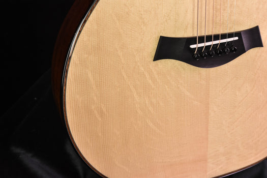 Taylor Custom GA Limited Edition  Bearclaw Engelmann Spruce and Quilted Sapele