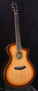 Breedlove Masterclass Custom Concerto-CE Whiskey Burst Bearclaw Sitka and Maple