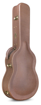 Cordoba Humidified Archtop Wood Case -Brown