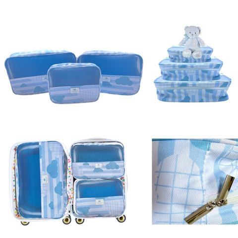 Itty Bitty Blue Baby Packing Cube Collection
