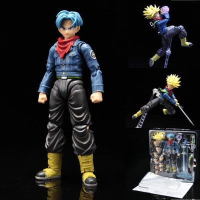 Trunks Super Saiyan Amovible Dragon Ball Z- FIGURINE MANGA & ANIMÉ-Figurine Manga Déco-Figurine Manga Déco