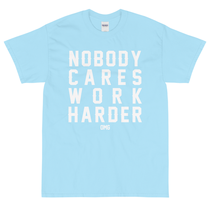 Nobody Cares T-Shirt (Blue)