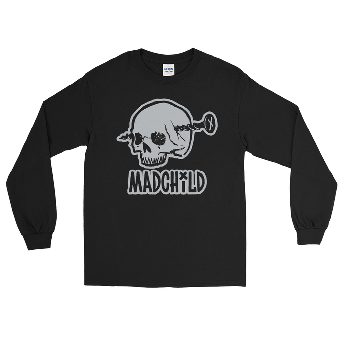Demon's Long Sleeve Shirt (Black/Grey)